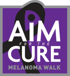 Aim for the cure logo