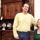 Estate liquidators Larry and Donna Peters.