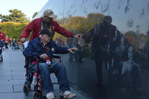 Honor Flights have allowed military veterans from around the country to visit war memorials built in their honor in Washington, D.C.