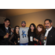 Ramirez poses with loved ones after his fight against Antonio Arellano on Dec. 13, 2014. From left to right: Brother Luis, girlfriend Marisol Lopez, Jose, sister Karla, mother Juanita and father Carlos.