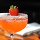 Jack & Charlie's signature drink is the Strawberry Basil Martini, a flavorful libation that uses vodka infused with strawberries.