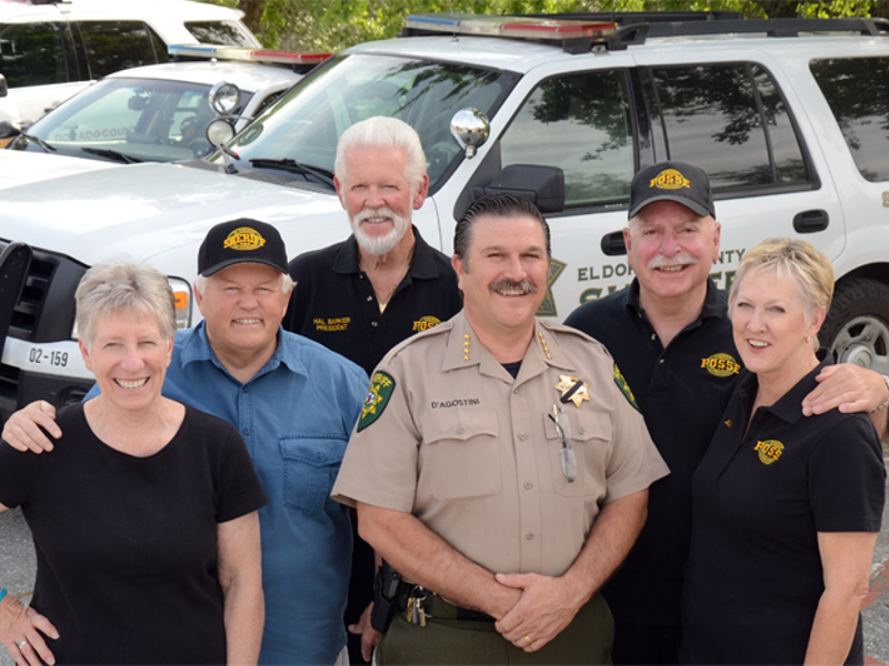 Sheriff's Posse of El Dorado County Supporting Local
