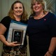 The Pooper Scoopers Inc was awarded the Small office/Home Office of the Year award at the Oswego Chamber of Commerce Annual Meeting that was held on May 7th at Whitetail Ridge Golf Course.  Pictured are Kandra Witkowski, owner of The Pooper Scoopers and Lynn Flores, current Vice Chairman of the Board