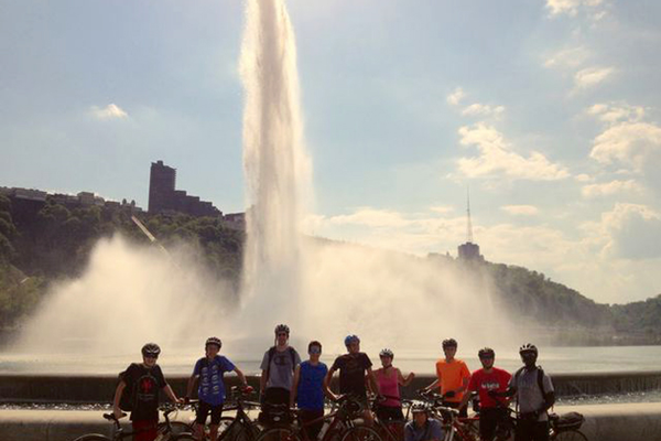 FCAHS Students Bike from MD to PA
