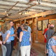 Art patrons flocked last Saturday to Abstractions a show featuring the works of nine local artists held at the Scarlett Thicket Farm in Kennett Square