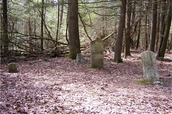 The Rausch Gap Cemetery holds the last inhabitants of Stony Valley. Photo courtesy of Brandy M. Watts Martin