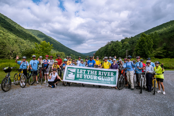 Susquehanna Greenways Partnership, a Get Outdoors PA community partner, leads a 43-mile sojourn along the West Branch of Susquehanna River. (Photo credit: Chuck Haupt)