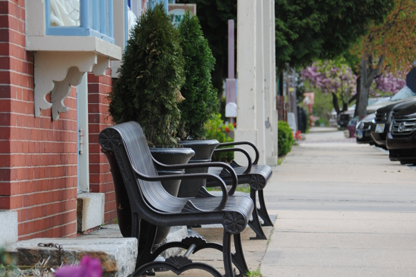 Chesapeake City's quaint streets make visitors feel like they are stepping back in time.