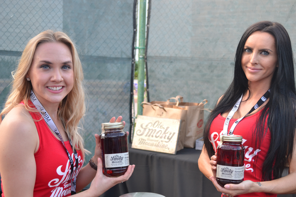 The Ole Smoky Moonshine table. Photo credit: Jeanne Fratello for DigMB