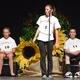Madison Bourassa competes in the 7th Grade Spelling Bee Finals.