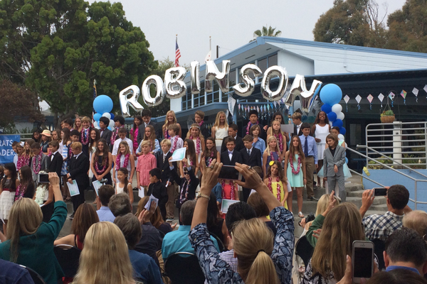 Robinson culmination ceremony - Photo credit: Jeanne Fratello