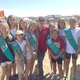 Girl Scout Troop 1940 with run founder Courtney Hvostal