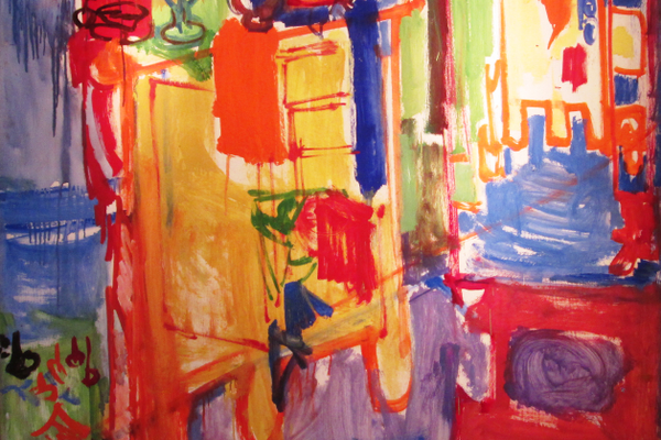 Hans Hofmann's 'Studio Unfinished.'