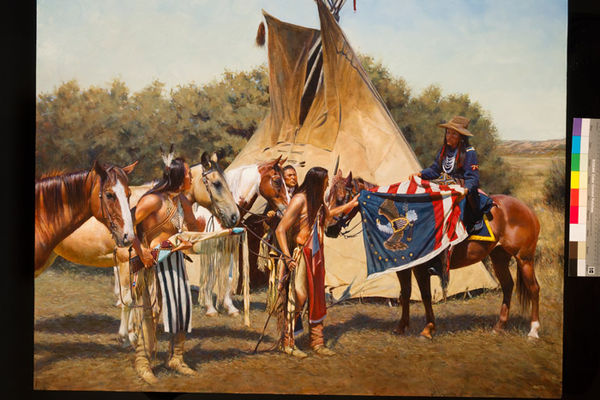 """The Chief's Flag"" by John Fawcett"