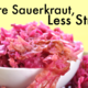 More Sauerkraut Less Stress Fermented Foods Linked to Decrease in Social Anxiety - Jun 29 2015 0420PM