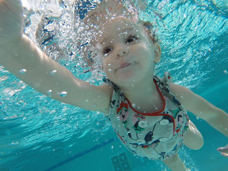 45cfa106d Infant swim lessons save lives