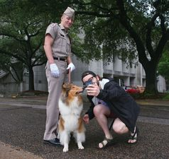 Meet the Carroll Grad Serving as Texas AMs Mascot Corporal - Jul 06 2015 1207PM