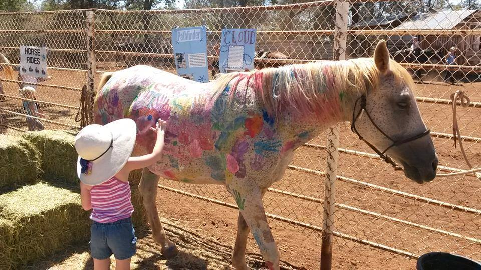 Painted 20pony 20  20open 20house 20  20unknown