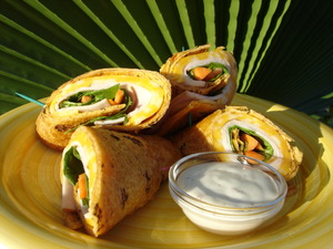 Web Extra Make a Southwest Turkey Wrap at Home - Jul 18 2015 0154PM