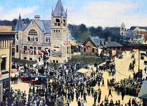 Postcard from Summer of 1913 - Comint to the Great Dodge County Fair All Photos Courtesy Dodge County Historical Society
