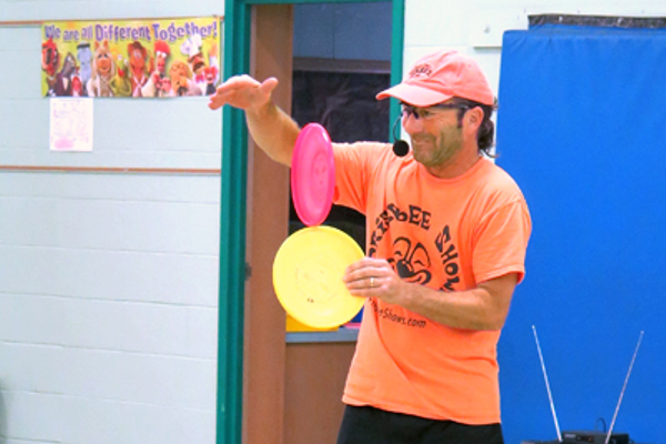 Bellingham's Todd Brodeur is a 2-time world Freestyle  Frisbee champ.