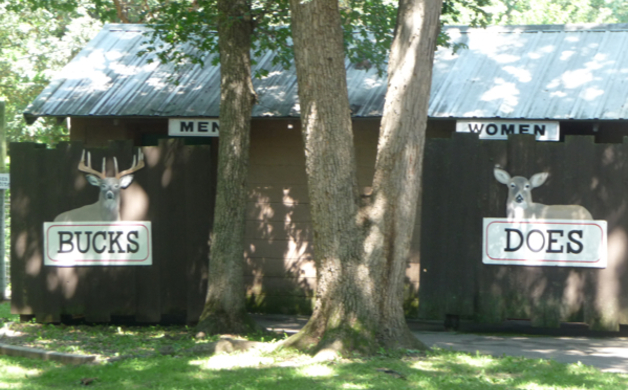 Wisconsin Deer Park Bathroom