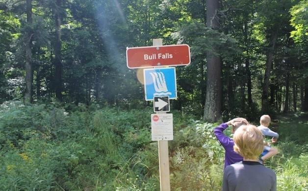 Bull Falls Trailhead