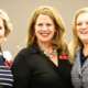 President and CEO, Jennifer Limas (Center)  with Champions for Girls Barbara Williams (Left) and Jean Wallace (Right). Photo Courtesy Julien and Lambert Photographic Services