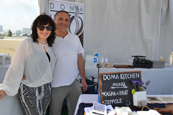 The Doma Kitchen team at the White Light White Night fundraising gala.