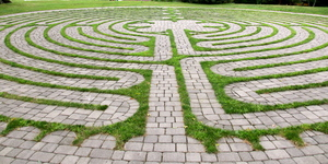 Day Trips - Walking Pennsylvania Labyrinths - Aug 29 2015 0133PM