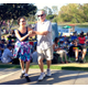 Concertgoers had a blast dancing to Beatles tunes at the free concert in Polliwog Park.