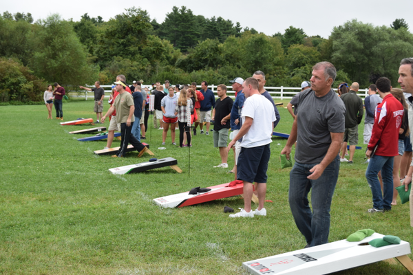 The Cornhole Tournament was, once again, an intense competition at the 2nd Annual Tewksbury Fall Harvest Fair.