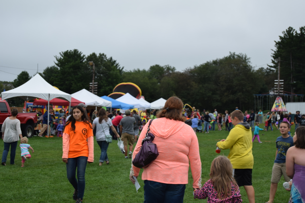Thousands of residents attended  the 2nd Annual Tewksbury Fall Harvest Fair.