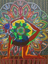 Medium yoga art 2