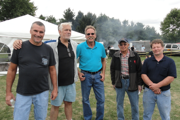 Penn Township Board of Supervisors members were all on hand at the annual picnic.