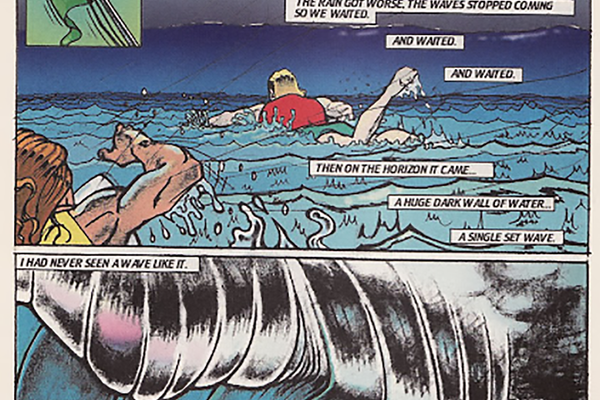 Sample of Sals cartoons in Surfer Magazine.