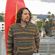 Sal (with his Lightning Bolt surfboard) in Hollywood.