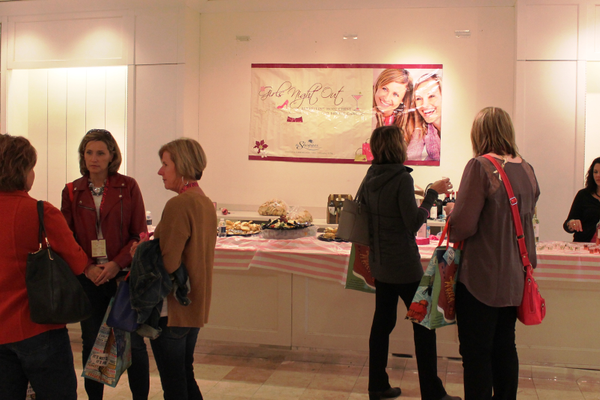 Girls Night Out at The Shoppes at Arbor Lakes Oct. 1 to benefit Hope Chest for Breast Cancer.
