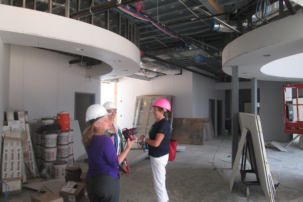 The new Northern Resource Center will have plenty of space for offices and events.
