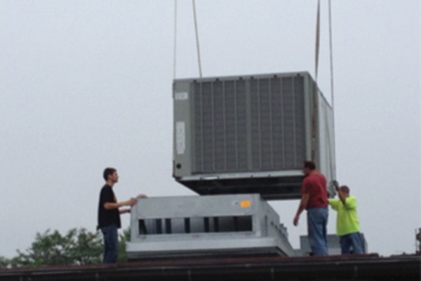 New HVAC units were installed at all three District 61 schools over the summer.