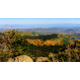 The view from Flat Top Mountain draped in fall colors. Photo By Nate Brothers