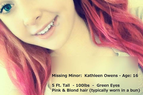 Lowell Police are asking for the public's help in locating Kathleen Owens.