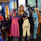 Kim Ferderbar Organizes Halloween Store for Students in Need