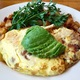 The Mardi Gras omelette at The Kettle