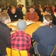 Community members met in small groups to discuss issues with Unionville-Chadds Ford administrators