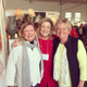 Joy Galane, Holly Fine, 2015 Craft Show Chairman, and Ginger Weingarten