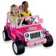Power Wheels Barbie Jammin' Jeep Wrangler $329.99 at Kmart, 3968 A Missouri Flat, Placerville. 530-626-7080,  kmart.com