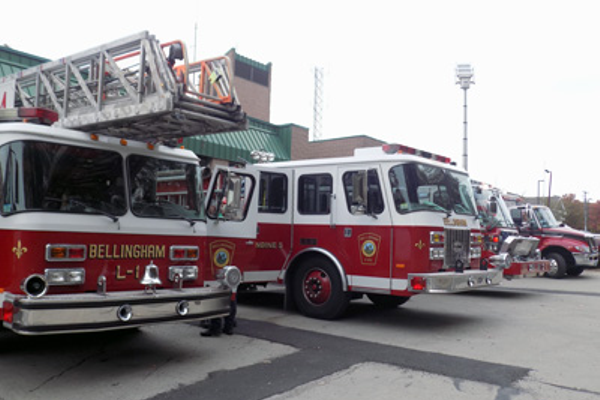 "Bellingham Fire Department's ""fleet"""