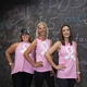 Sharon Thompson, owner of fitRIDE, with Judy Pickett and Jenny Shipley, owner of the thebodybar(re)—el dorado hill