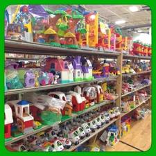 Medium toy shelves